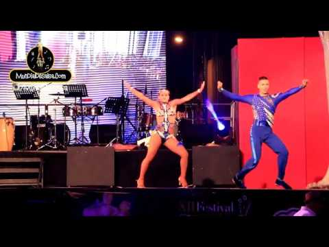 Exhibición Camilo Sanchez y Valentina Giron XII Festival Mundial de Salsa 2017