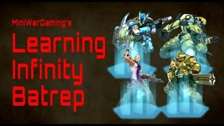 ALEPH vs PanOceania Infinity Battle Report - Learning Infinity Ep 44