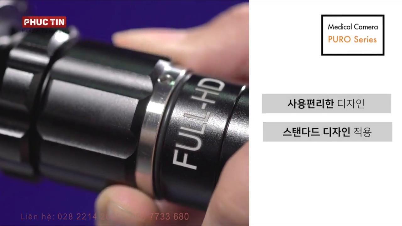 Camera nội soi Tai-Mũi-Họng - Phẫu thuật Full HD 1080p60 RETINA Hàn Quốc    Phúc Tín Medical