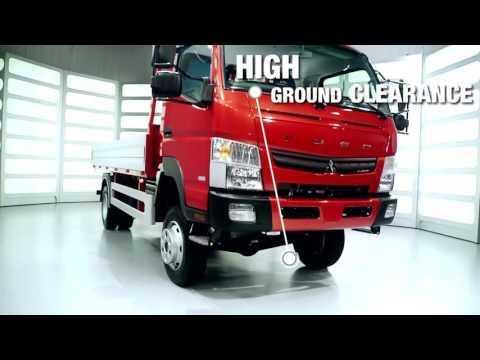 pktrucks Fuso Mitsubishi Canter 6C18D 4x4 chassis double cabin NEW