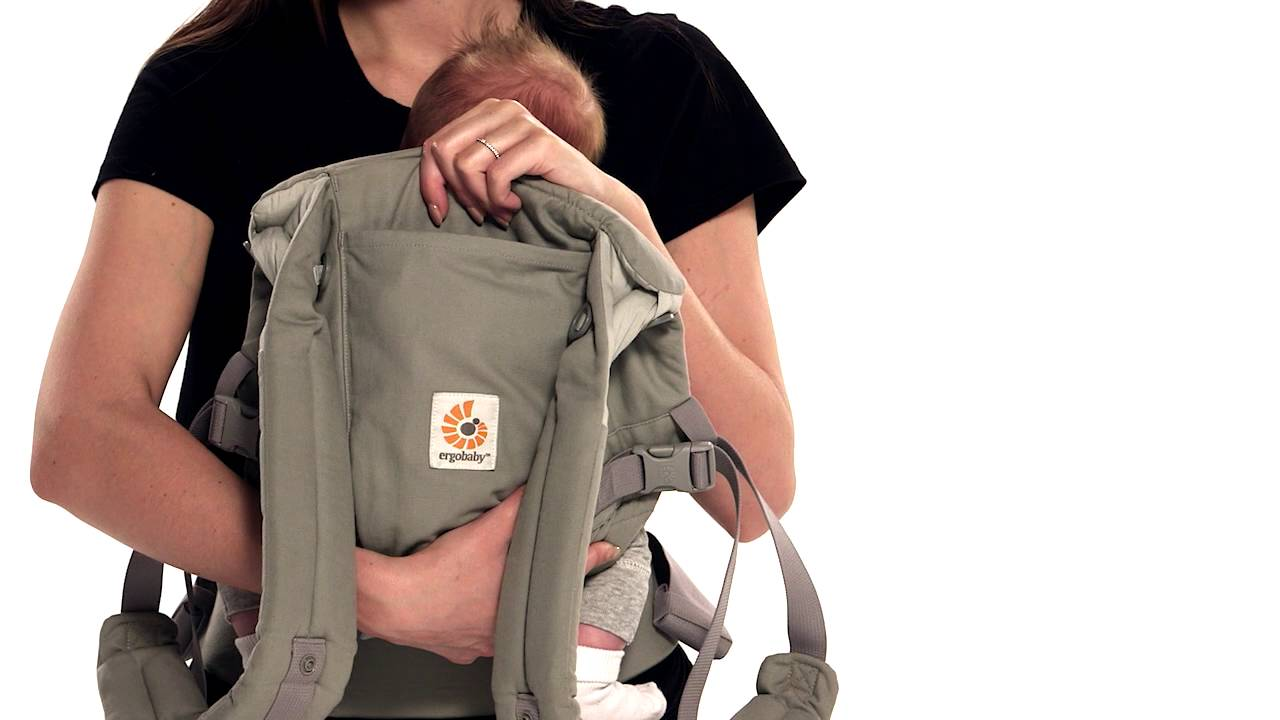 Ergobaby Adapt Instructions Front Inward With H Straps Youtube