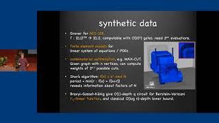 Small quantum computers and big classical data