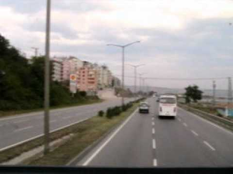 Trabzon-Athens by Bus part 1 - Samsun