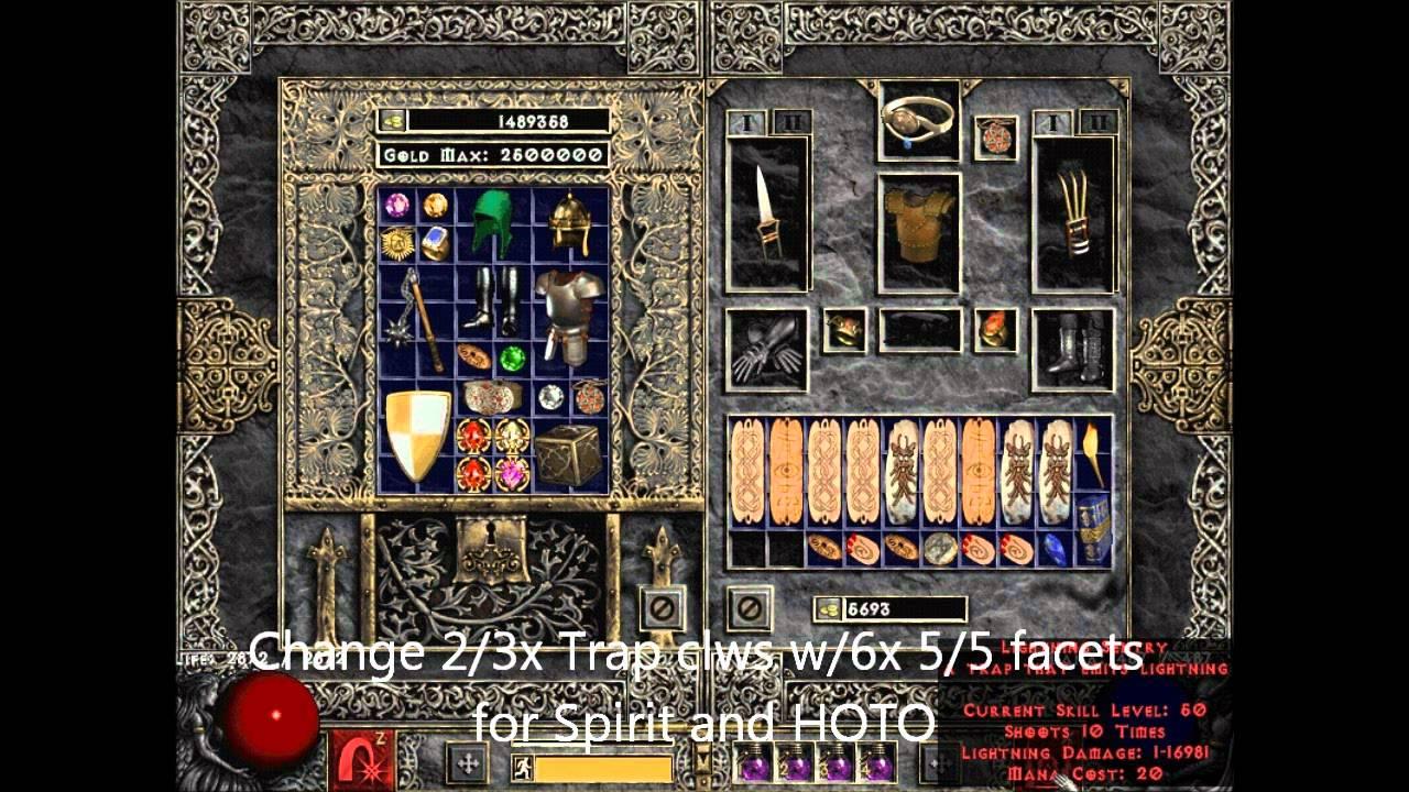Diablo 2 Trap Assassin Build - Bing images