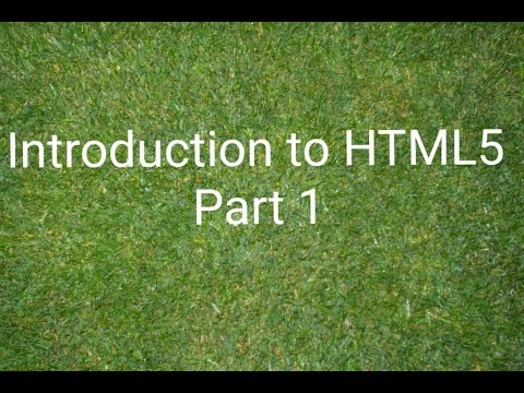 #1 Introduction to HTML5  شرح