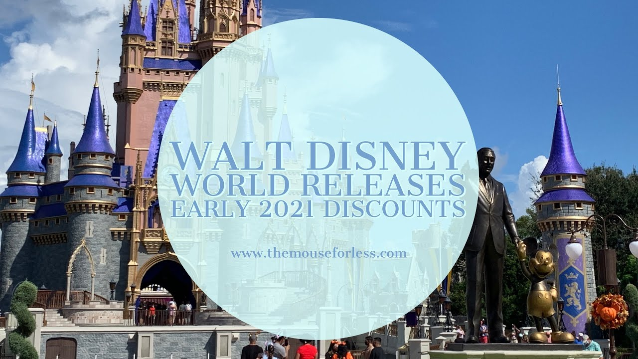 A New Early 2021 Walt Disney World Discount Dates For The Epcot Festival Of The Arts And More Youtube