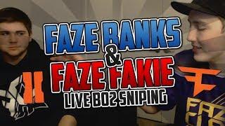 FaZe Banks & FaZe Fakie LIVE BO2 FFA w/ Facecam