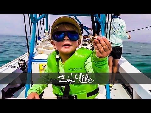 4-Year-Old Fishing for Tuna | Kellan Hunt