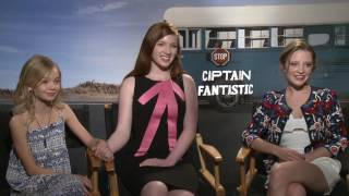Captain Fantastic: Interview with  Annalise Basso, Shree Crooks and Sami Isler .