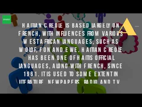 What Is Creole Language In Haiti?