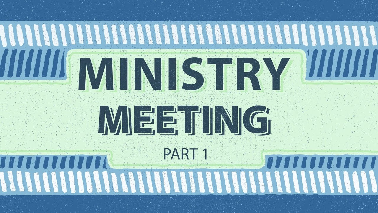 Ministry Meeting Part 1 03042017 The Door Christian