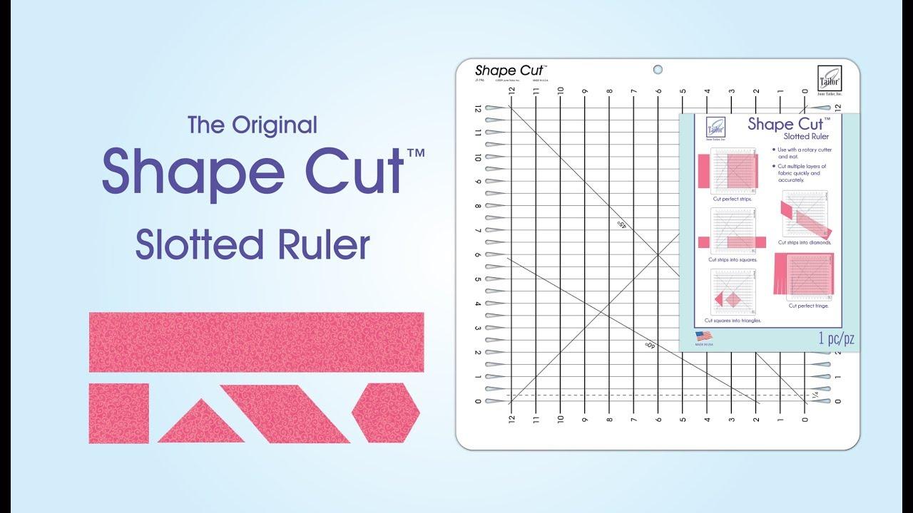 June Tailor® Shape Cut™ Ruler Demonstration Video