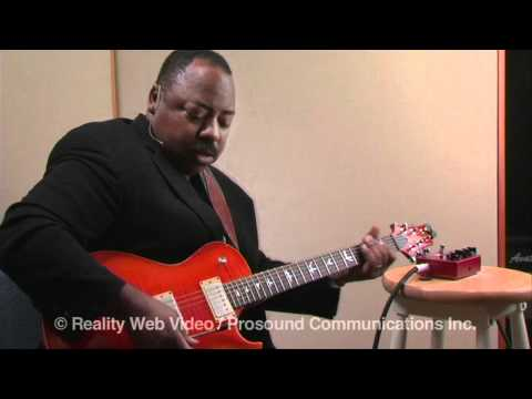 "Interview with Paul Jackson Jr. ""Xotic Effects BB Plus Introduction & Ch. A Demo"""
