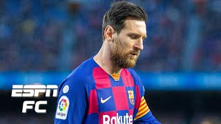 Sid lowe joins dan thomas on espn fc to discuss the news that clause in lionel messi's barcelona contract would have allowed him leave a free ...
