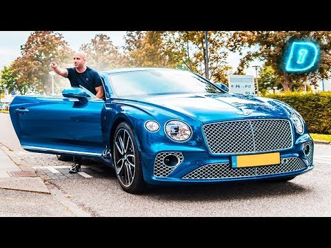 UBER in BENTLEY STYLE! // DAY1 Daily Driver