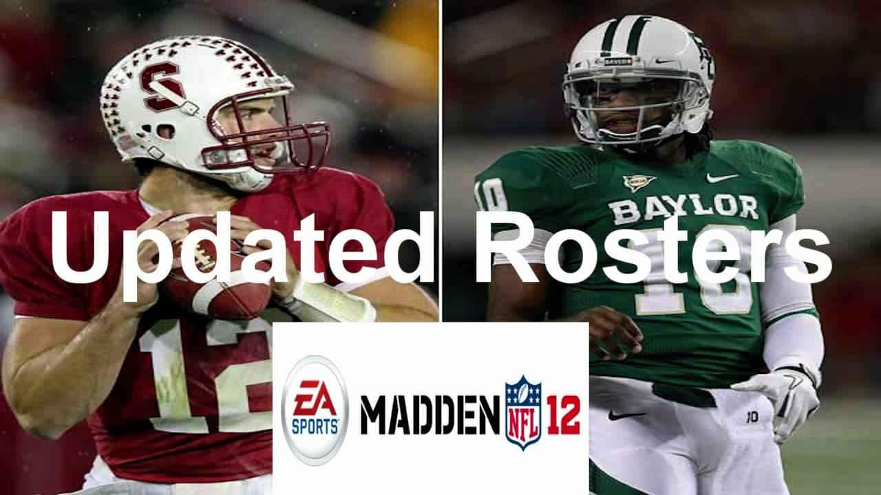 updating madden 12 roster xbox 360
