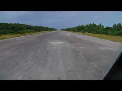 Takeoff from Palmyra Atoll.WMV