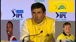 CSK Fleming Explains why he Selected Oldage Players