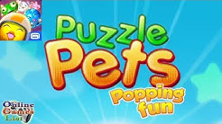 Puzzle Pets - Popping Fun Beta Gameplay