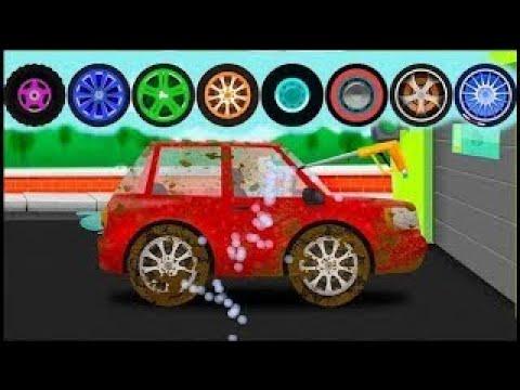 Мультики про машинки для самых маленьких детей - Мойка машин.