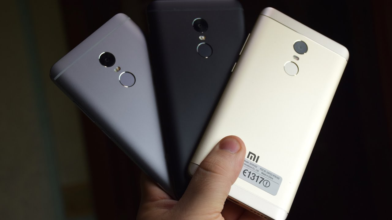 Unboxing Xiaomi Redmi Note 4 Matte Black E Vs Gold E Gray