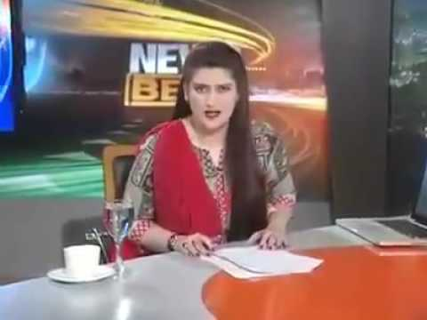 A Pakistani news anchor use bad language to Prime minister