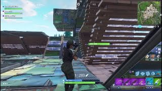 New fortnite glitch shooting through the wall