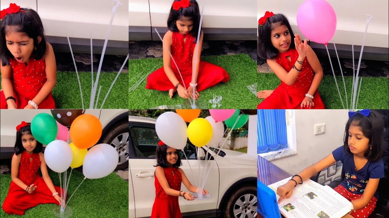 Download #Tiyakuttyയും Onlineക്ലാസും #Comment Your FavouriteSubject #BalloonStand Unboxing #BirthdaySpecial♥️