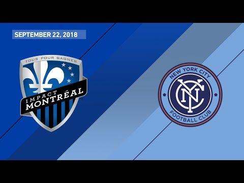 HIGHLIGHTS: Montreal Impact vs. New York City FC | September 22, 2018