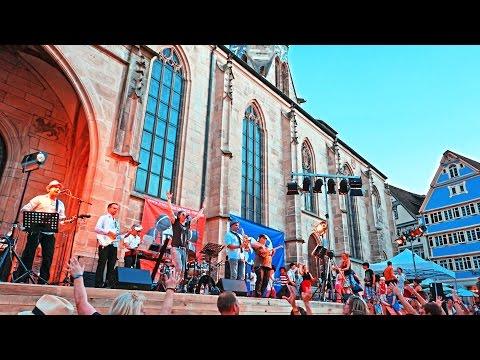 Germany Tübingen Stadtfest 4K Song Twist and shout (Beatles cover).