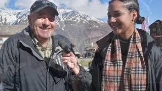 Interviews Hollywood im Mattertal