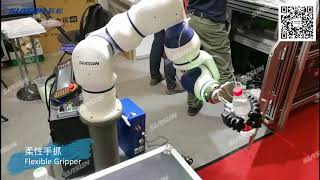 Siasun Cobot Application - Soft Gripper Demonstration