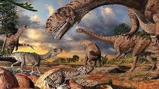 История вымерших животных (динозавры)
