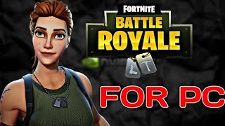 Download Fortnite Battle Royale Free To PC Windows 10/8/7 | Must Watch 2018 (HINDI)