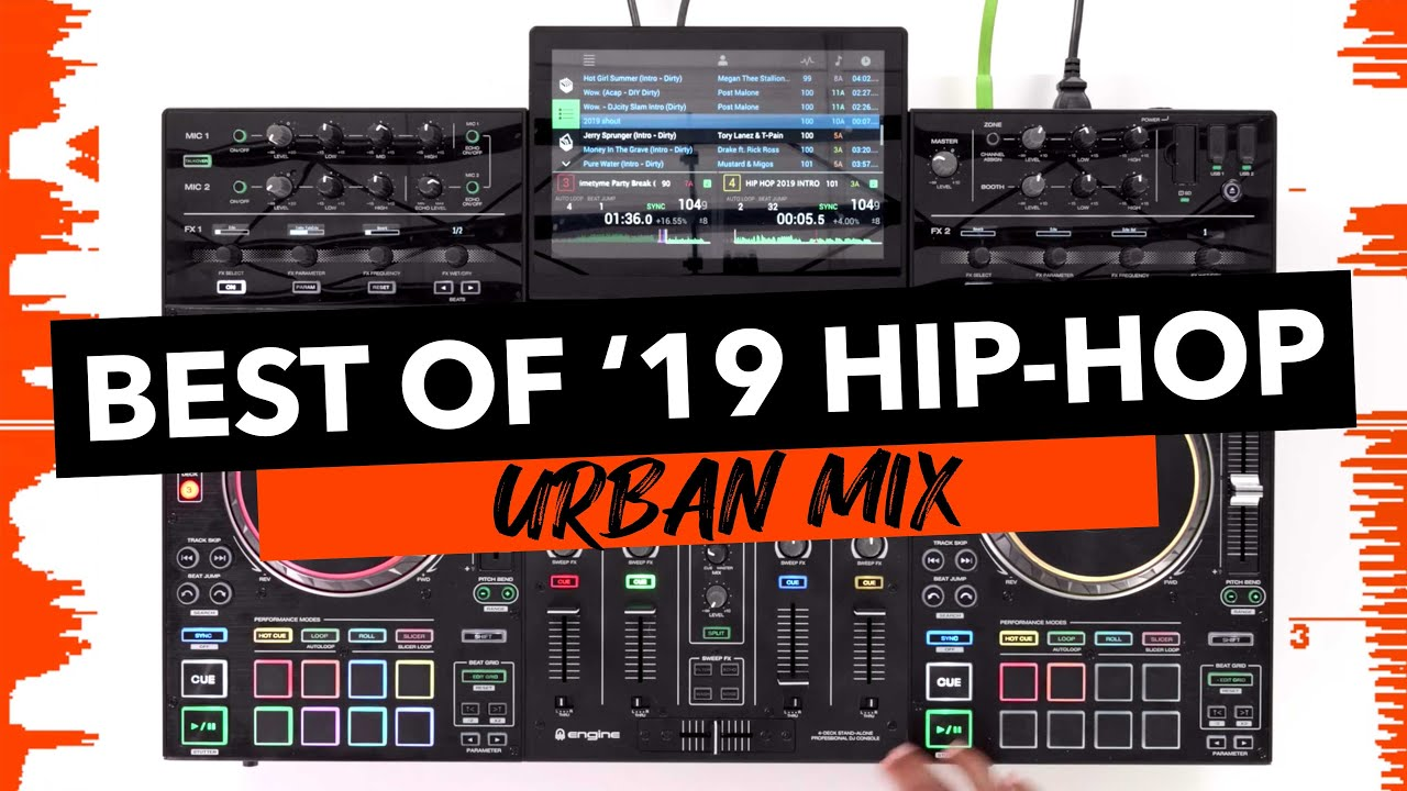 Best of 2019 Hip Hop - Urban DJ Mix - Denon DJ Prime 4