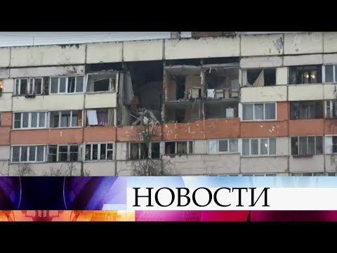 Взрыв прогремел в подъезде жилого дома в Санкт-Петербурге. - Смотреть видео онлайн