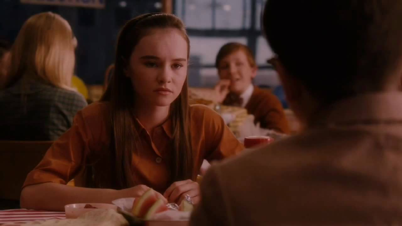"Madeline Carroll ""Flipped"" clip - ""Lunch"" - YouTube"