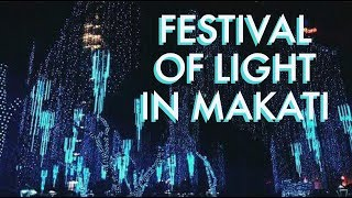 Ayala Triangle's Festival of Light - New Year in The Philippines 2018