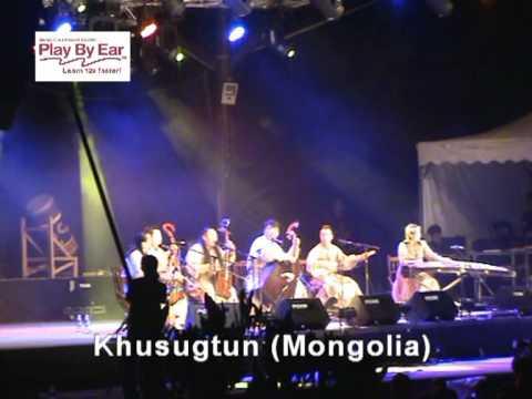 Rainforest World Music Festival - Day2: Gongs Of Asia & Khusugtun