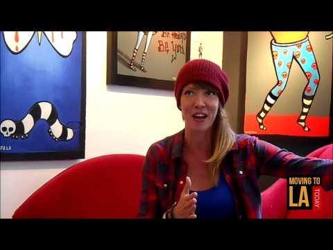 Los Angeles Treasure - Artist Jennifer Main