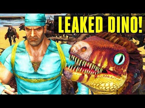 LEAKED DINO! TROODON FIRST LOOK! Ark: Survival Evolved (Troodon Dino Spotlight) Update 253