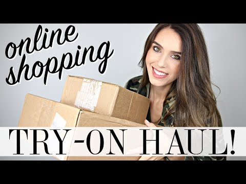 ONLINE SHOPPING TRY-ON HAUL!