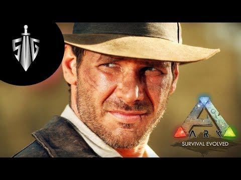 indiana Jones  I  Ark Survival Evolved Ragnarok  #5