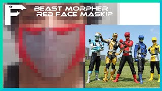 I Made a Power Ranger Beast Morpher Red Face Mask  Fennec Foxy