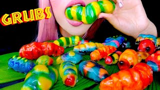 ASMR Luk Chup Grubs | Lion King | Soft Squishy Eating Sounds