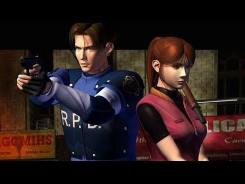 Resident evil 2 Clasico 1998 Noche de Terror Alone