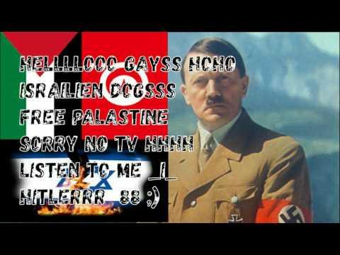 هاكر تونسي يخترق قناة اسرائيلية  رد لأغتيال محمد زواوي و يضع لهم صورة هيتلر 88