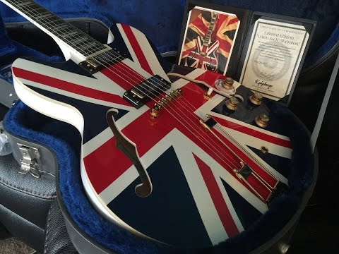 Epiphone Sheraton Limited Edition Union Jack