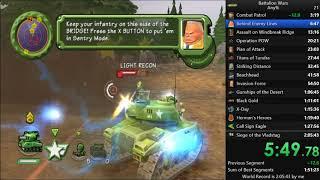 Battalion Wars Any% Speedrun 2:04:44 (Former World Record)