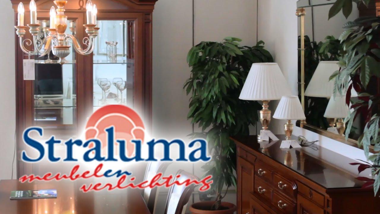klassieke meubelen klassieke dressoirs salontafels vitrines bij straluma meubelen en verlichting youtube